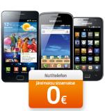 Настоящий смартфон Samsung – бесплатно! К тому же бесплатные сообщения и неограниченный Интернет!