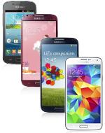 Samsungi nutitelefonid koos MiNTiga alates 8.60 kuus!