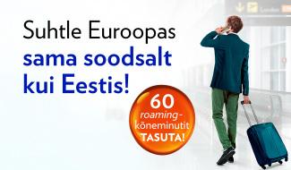 roaming euroopas
