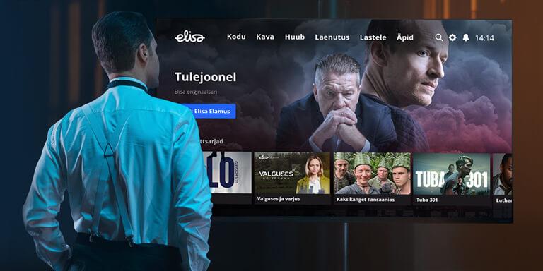 Новая ТВ-услуга Elisa Elamus уже здесь!